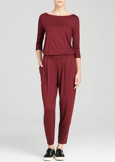 Three Dots Boat Neck Jumpsuit