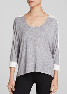 Three Dots Color Block Shirt