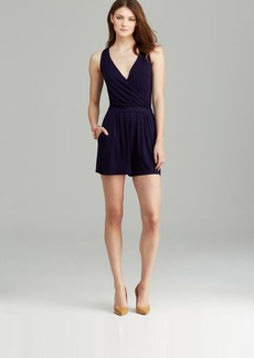 Three Dots Crossover V Back Romper