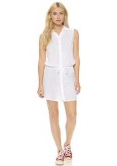 Three Dots Double Gauze Cover Up Dress