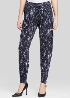 Three Dots Easy Fit Printed Pants