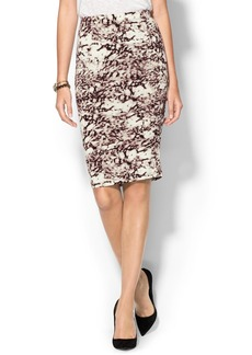 Three Dots Fitted Skirt