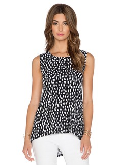 three dots High Low Muscle Tank
