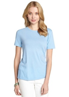 Three Dots marine blue supima cotton short sleeve t-shirt