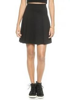 Three Dots Mini Trumpet Skirt