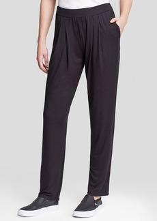 Three Dots Pleat Front Slouchy Pants