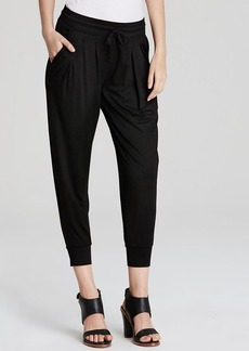 Three Dots Pleated Slouchy Pants