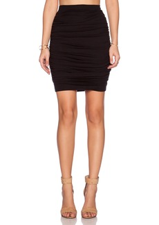 three dots Ruched Skirt