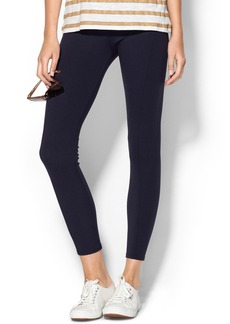 Three Dots Seamed Ponte Legging