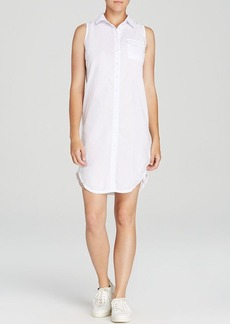 Three Dots Sleeveless Shirt Dress