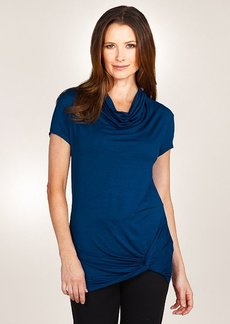 Three Dots S/S Knot Top