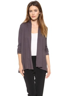 Three Dots Thermal Open Cardigan