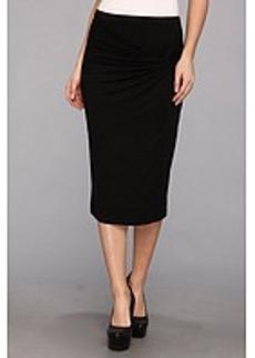 Three Dots Twist Front Pencil Skirt