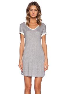 three dots V Neck Dress