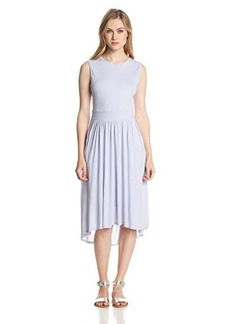Three Dots Women's Shell Tank Dress with Pockets