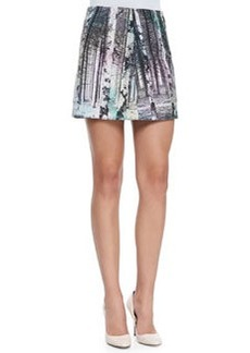 Enchanted Forest Printed Miniskirt   Enchanted Forest Printed Miniskirt