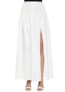 Full-Length Skirt with Shorts   Full-Length Skirt with Shorts