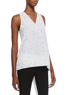 Splatter Dot Sleeveless Top   Splatter Dot Sleeveless Top