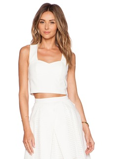 Tibi Agathe Sleeveless Corset Top