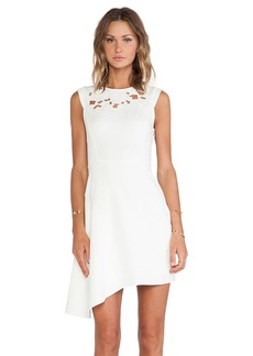 Tibi Blossom Dress in Ivory