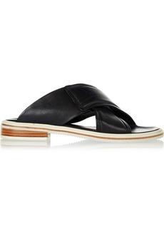 Tibi Blythe leather sandals