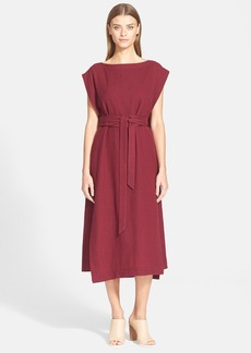 Tibi Cape Dress