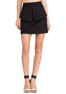 Tibi City Peplum Skirt
