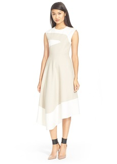 Tibi Colorblock Sleeveless Dress