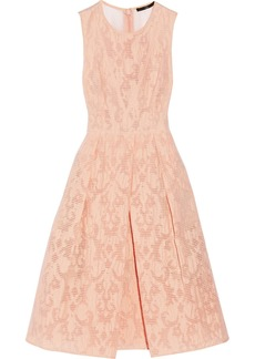 Tibi Cotton-blend jacquard dress