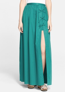 Tibi Cotton Poplin Skirt