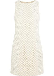 Tibi Crocheted cotton mini dress