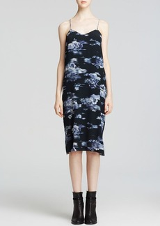 Tibi Dress - Floral Print Slip