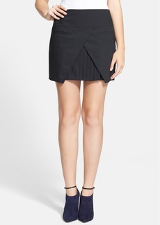 Tibi 'Edie' Pleated Miniskirt