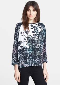 Tibi 'Floral Fields' Print Top