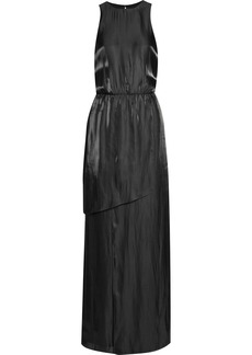 Tibi Flume open-back satin maxi dress