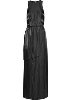 Tibi Flume open-back satin maxi dress