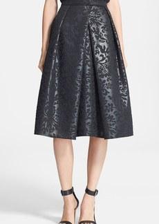 Tibi 'Foret' Jacquard Full Skirt