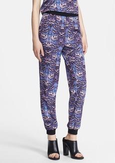 Tibi 'Ibis' Print Track Pants