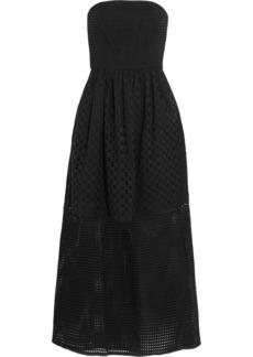 Tibi Kat broderie anglaise cotton midi dress