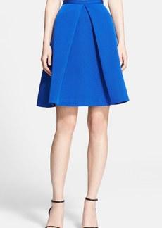 Tibi 'Katia' Faille Flare Skirt