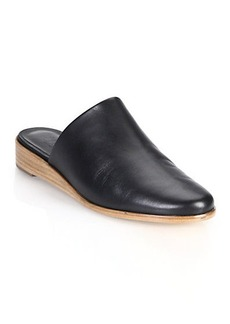 Tibi Kirsi Leather Mules