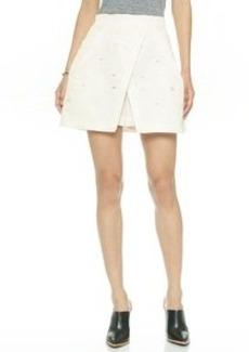 Tibi Layered Flap Shorts