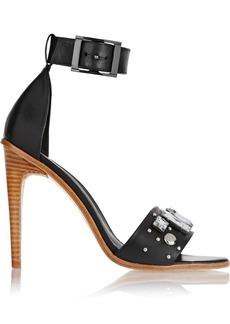 Tibi Liv embellished leather sandals