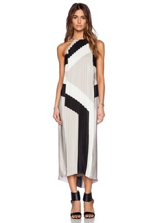Tibi Maritime Border Dress
