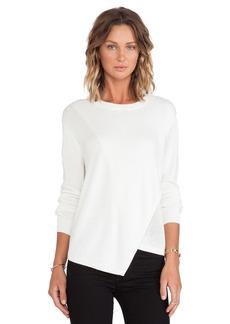Tibi Melange Fine Gauge Sweater