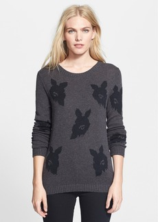 Tibi 'Melting Floral' Intarsia Sweater