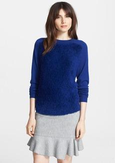 Tibi Merino Wool & Faux Fur Sweater