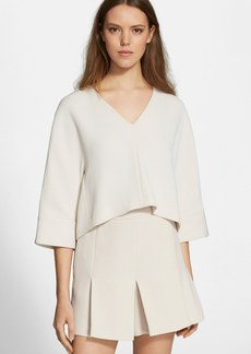 Tibi 'Mika' Quilted Top
