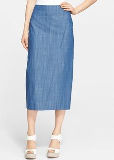 Tibi Paneled Midi Skirt