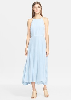 Tibi Pleated Halter Dress